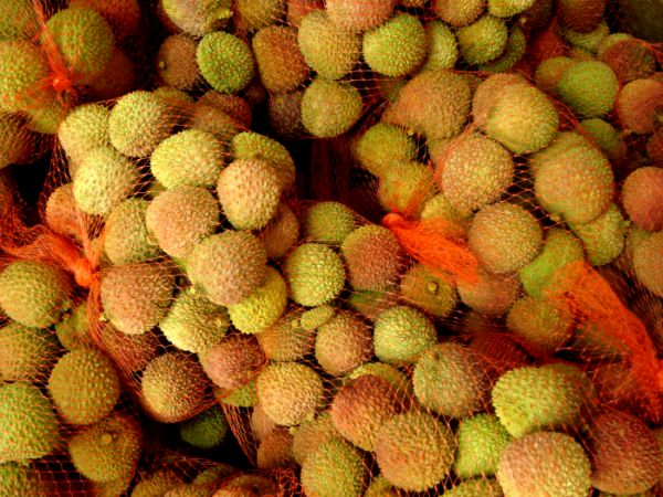 I took this photo because I was really excited to finally find fresh looking lychee in the States- at a random chinese import store near Scottsdale, Arizona.